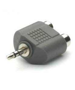 33702_VIVANCO PB550 AUDIO ADAPTER 3.5mm TO 2X RCA black