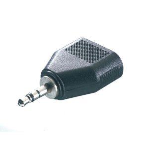 33707_VIVANCO AUDIO ADAPTER 3.5mm plug TO 2X 3.5mm Socket