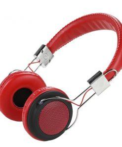 34880_VIVANCO COL400 HEADPHONS STREET STYLE red