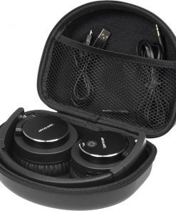 38896_VIVANCO AIRCOUSTIC BLUETOOTH PREMIUM ANC HEADPHONES black