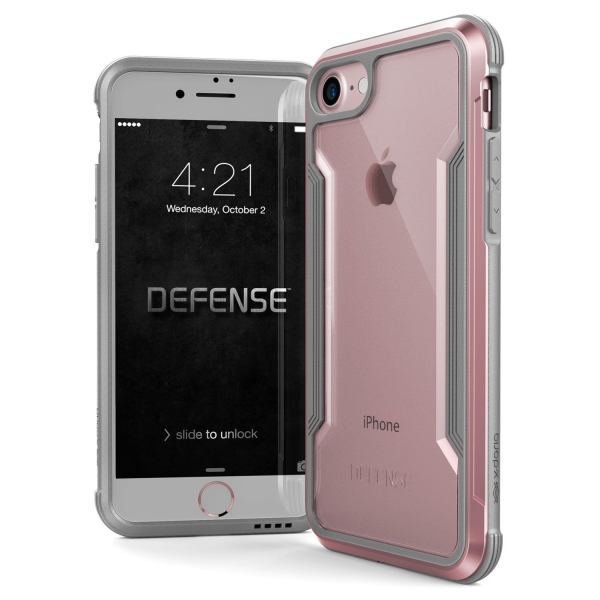 3X174992A_X-DORIA DEFENCE SHIELD IPHONE 7 8 rose gold backcover