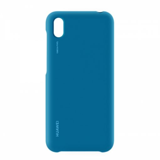 51993051_ORIGINAL HUAWEI Y5 2019 PROTECTIVE TPU CASE blue backcover
