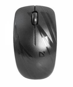 52035_DEFENDER MM-035 DATUM WIRELESS LASER OPTICAL MOUSE 1600dpi black