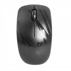 52035_DEFENDER MM-035 DATUM WIRELESS LASER OPTICAL MOUSE 1600dpi black