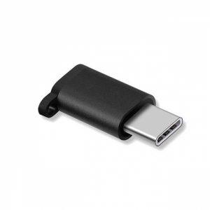 ADAPMICTYPECB_ADAPTER MICRO USB TO TYPE C black