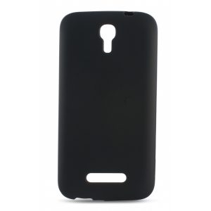 B8981FTP01_Ksix FLEX TPU ALCATEL POP S7 black backcover
