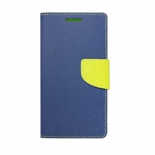 BFSAMA818PBLI_iS BOOK FANCY SAMSUNG A8 PLUS 2018 blue lime