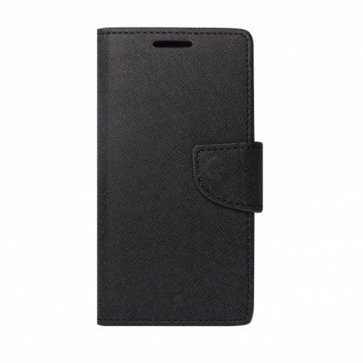 BFSAMA818PB_iS BOOK FANCY SAMSUNG A8 PLUS 2018 black