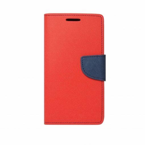 BFSAMA818PR_iS BOOK FANCY SAMSUNG A8 PLUS 2018 red