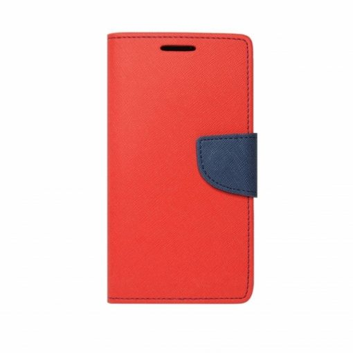 BFSAMNOTE10R_iS BOOK FANCY SAMSUNG NOTE 10 red