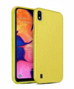 BIOSAMA10Y_FOREVER BIOIO CASE SAMSUNG A10 yellow backcover