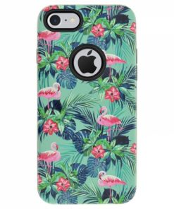 CFIP7V_4OK FLAMINGO IPHONE 7 green backcover