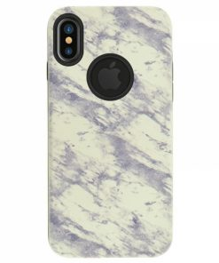 CMIPXW_4OK MARBLE IPHONE X XS white backcover