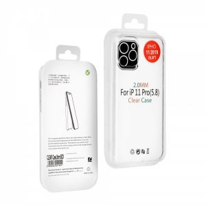 CTPUIPH11P_iS CLEAR TPU 2mm IPHONE 11 PRO backcover