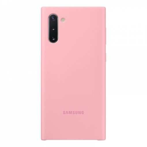 EF-PN970TPEGWW_ORIGINAL SAMSUNG SILICONE COVER NOTE 10 pink backcover
