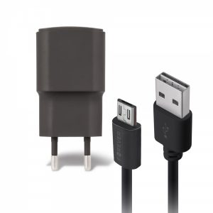 FCT2ABM_FOREVER TRAVEL CHARGER 2A + MICRO USB DATA CABLE black