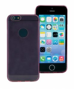 IP6PSGP_PHONIX THIN TPU + SCREEN PROTECTOR IPHONE 6 PLUS pink backcover outlet