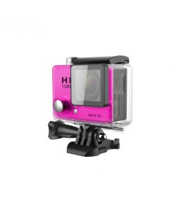 ISACAMP_ACTION SPORT CAMERA 1080p WIFI 30m water resistant pink