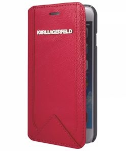 KARL0038_KARL LAGERFELD BOOK IPHONE 6 6S CLASSIC red