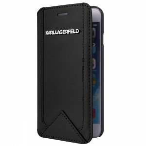 KARL0045_KARL LAGERFELD BOOK IPHONE 6 PLUS CLASSIC black