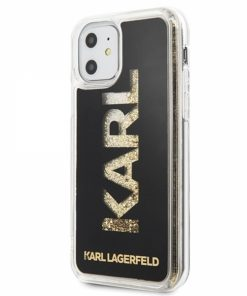 KLHCN58KAGBK_KARL LAGERFELD IPHONE 11 PRO LIQUID backcover