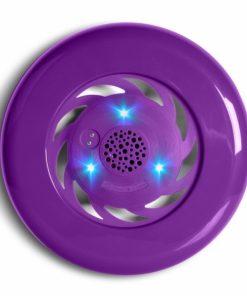 LEDFRISBEESPEA_LEDWOOD PORTABLE BLUETOOTH SPEAKER FRISBEE purple