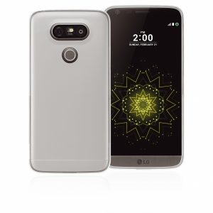 LGG5GPW_PHONIX TPU + SCREEN PROTECTOR LG G5 trans backcover outlet
