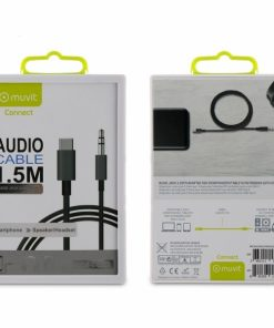 MCAUC0003_MUVIT CONNECT CABLE AUDIO TYPE C TO JACK 3.5MM MALE 1.5M