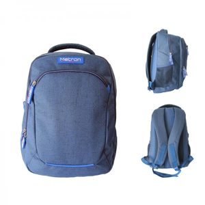 METRONLBL_METRON LAPTOP BACKPACK 32x15x46cm BLUE