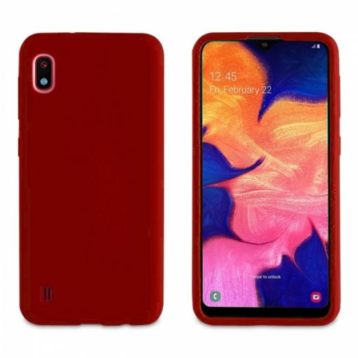 MLBKC0411_MUVIT LIFE BABY SKIN SAMSUNG A10 red backcover