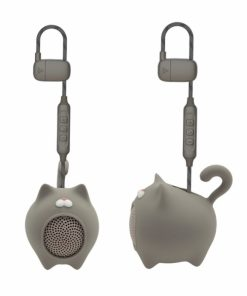 MLSSP0013_MUVIT LIFE ANIBALL PORTABLE SPEAKER CAT 3W grey