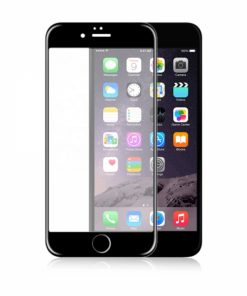 MOS10053DSB_FONEX 3D JAPAN FULL FACE IPHONE 6 6s black TEMPERED GLASS