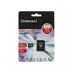 MSDINT64GB_Memory Card microSD INTENSO 64GB CLASS 10
