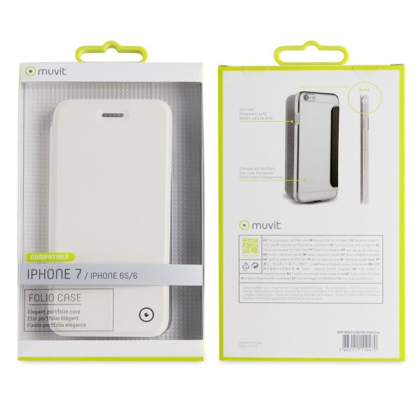 MUFLC0016_MUVIT BOOK CRYSTAL APPLE IPHONE 6 6s 7 8 white