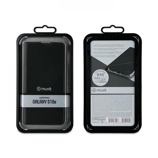 MUFLS0267_MUVIT LEATHER STAND BOOK GRAPHIC SAMSUNG S10 E black