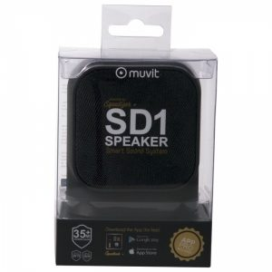 MUSSP0020_MUVIT BLUETOOTH PORTABLE SPEAKER SD1 FABRIC black