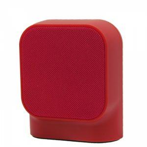 MUSSP0027_MUVIT BLUETOOTH PORTABLE SPEAKER SD1  FABRIC red