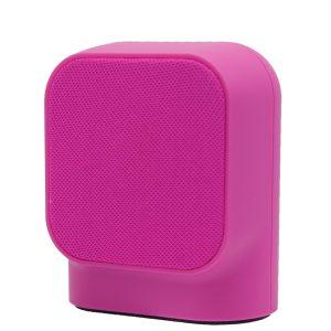 MUSSP0029_MUVIT BLUETOOTH PORTABLE SPEAKER SD1 FABRIC pink