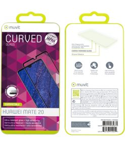 MUTPG0489_MUVIT JAPAN FULL FACE HUAWEI P20 LITE 2019 black tempered glass