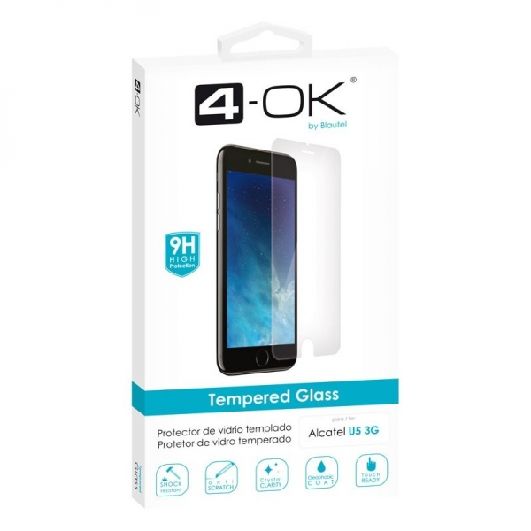 PRGU53_4OK TEMPERED GLASS ALCATEL U5 3G