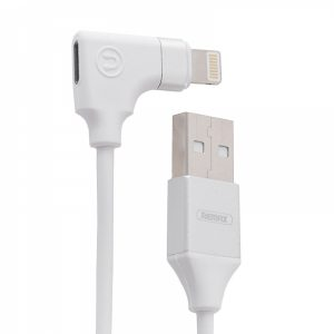 RLLA01W_REMAX 2 in 1 DATA CABLE & AUDIO ADAPTER LIGHTNING 15cm white