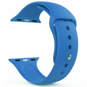 SEBAP1LB_SENSO FOR APPLE WATCH 42mm-44mm REPLACEMENT BAND light blue