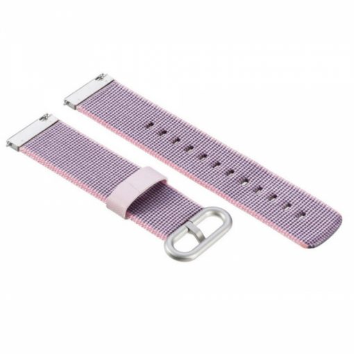 SEBHM5C7_SENSO FOR XIAOMI AMAZFIT PACE / STRATOS REPLACEMENT NYLON BAND pink purple