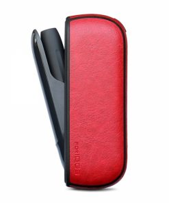 SEBIQ4R_SENSO LEATHER CASE FOR iQOS 3.0 red