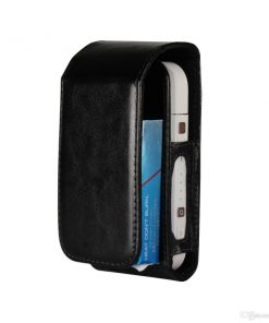 SEBIQ72B_SENSO WALLET CASE FOR iQOS 2.0 black