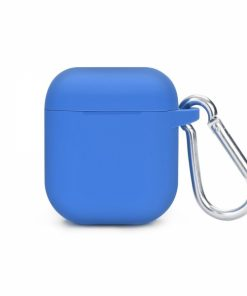 SEBPG2BLH_SENSO SILICONE CASE FOR AIRPODS WITH HOLDER blue
