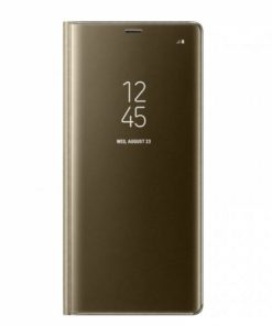 SECLBHUAY7P19G_SENSO CLEAR BOOK HUAWEI Y7 PRIME 2019 gold