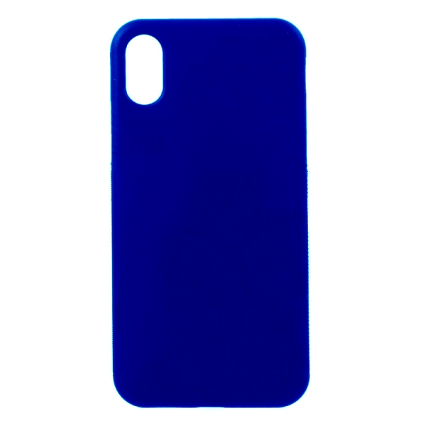 SEFLIPXBL_SENSO FLEX IPHONE X XS blue backcover