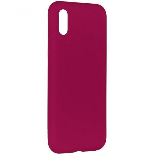 SELIIPHXM_SENSO LIQUID IPHONE X XS maroon backcover