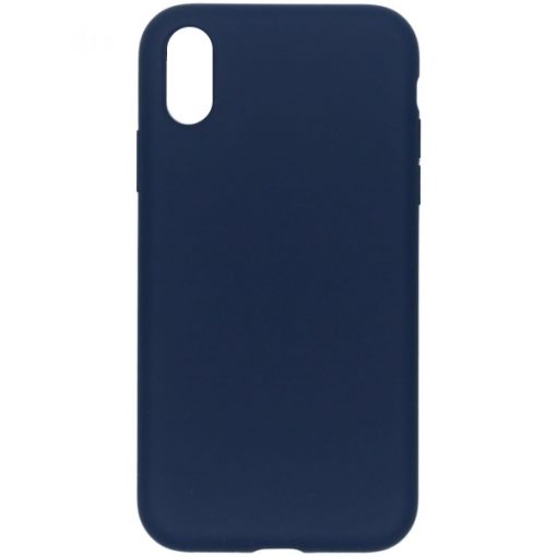 SELIIPHXSMBL_SENSO LIQUID IPHONE XS MAX dark blue backcover